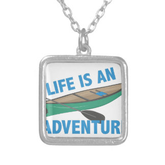 An Adventure Silver Plated Necklace