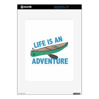 An Adventure Skin For iPad