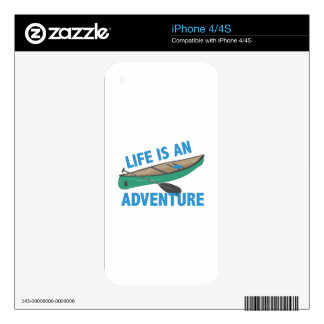 An Adventure Skins For iPhone 4