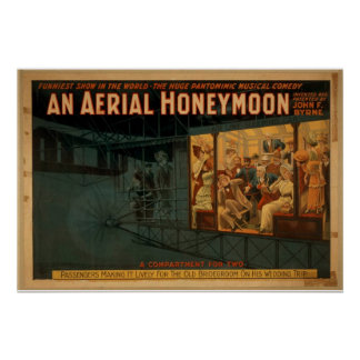 An Aerial Honeymoon, 'A Compartment for Two' Print