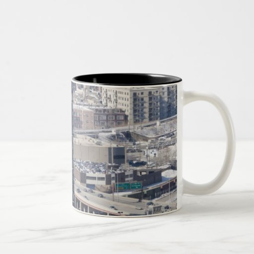 An aerial view of Chicago, looking northwest 2 Mug