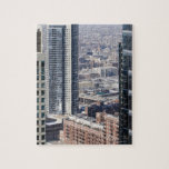 An aerial view of Chicago, looking northwest 2 Puzzles