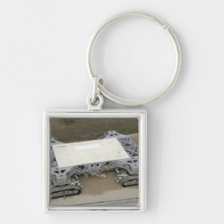 An aerial view of the crawler-transporter keychain
