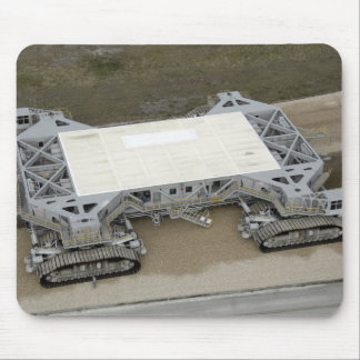 An aerial view of the crawler-transporter mouse pad
