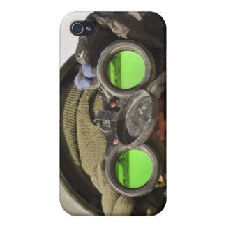 An Afghan soldier scans the horizon iPhone 4 Case
