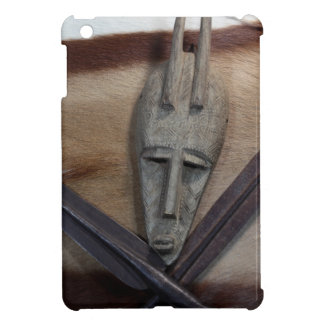 An African mask with a spears Cover For The iPad Mini