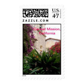 An afternoon at Carmel Mission Postage