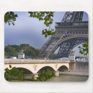 an afternoon by the Seine Mouse Pad