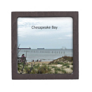 An afternoon on the Chesapeake Bay Premium Jewelry Box