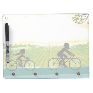 An Afternoon Ride Dry Erase Board With Keychain Holder