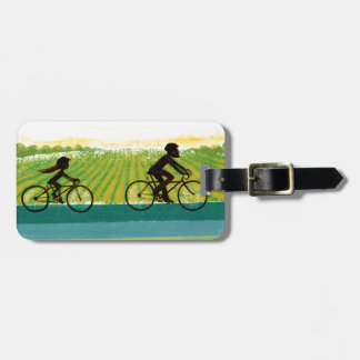 An Afternoon Ride Luggage Tag