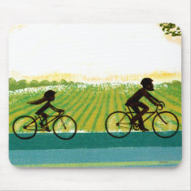 An Afternoon Ride Mouse Pad