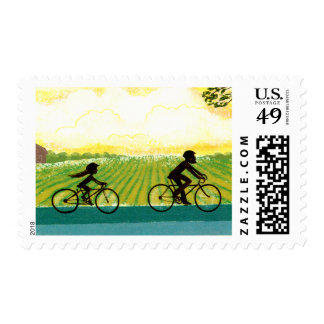 An Afternoon Ride Stamps