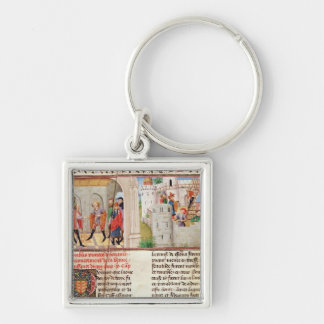 An Agreement and the Building of a Castle Keychain