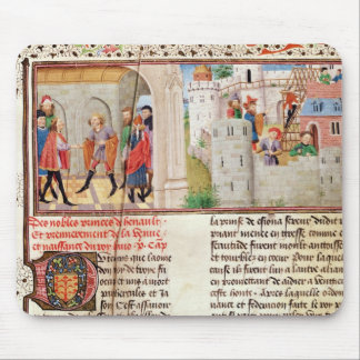 An Agreement and the Building of a Castle Mouse Pad