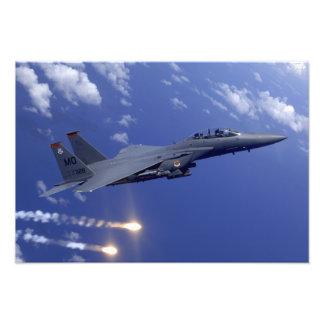 An Air Force F-15E Strike Eagle Photo Art