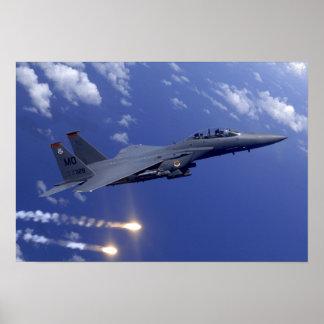 An Air Force F-15E Strike Eagle Poster