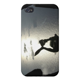 An Air Force pararescueman iPhone 4 Covers