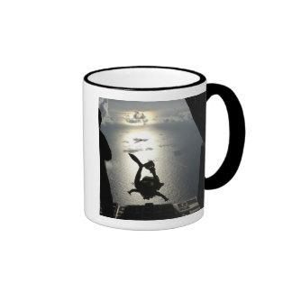 An Air Force pararescueman Ringer Coffee Mug
