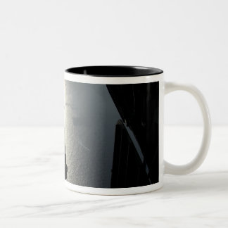 An Air Force pararescueman Two-Tone Coffee Mug