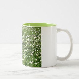 An air of spring Two-Tone coffee mug