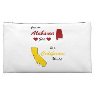 An Alabama Girl In a California World Cosmetic Bag