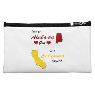 An Alabama Girl in California Makeup Bag