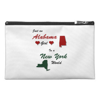 An Alabama Girl in New York Travel Accessory Bag