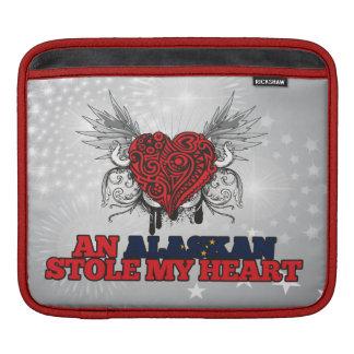 An Alaskan Stole my Heart Sleeves For iPads