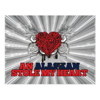 An Alaskan Stole my Heart Postcard