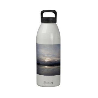 An Alaskan Sunset Water Bottle