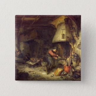 An Alchemist, 1611 Button
