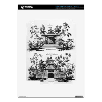 An Alcove and a Cool Retreat, from 'Chinese Archit Decal For iPad 3