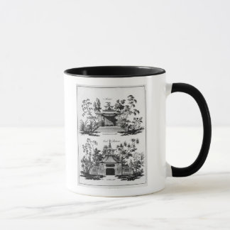 An Alcove and a Cool Retreat, from 'Chinese Archit Mug