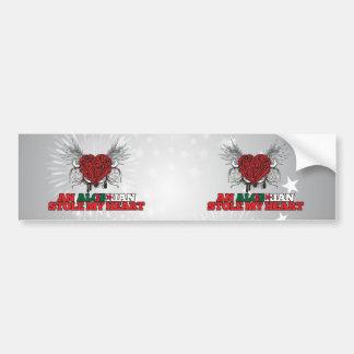 An Algerian Stole my Heart Bumper Sticker