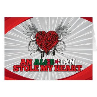 An Algerian Stole my Heart Card