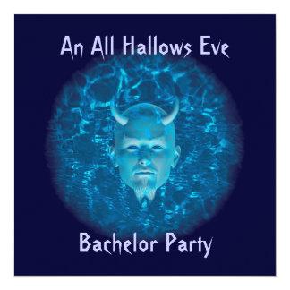 """""""An All Hallows Eve Bachelor Party"""" Phantom Devil Card"""
