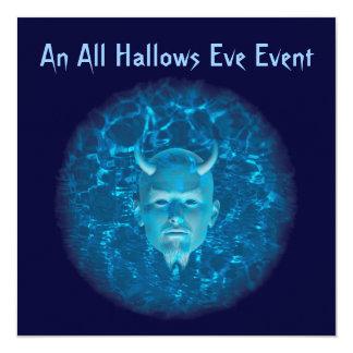 """""""An All Hallows Eve Event"""" - Phantom Devil (Blue) Card"""