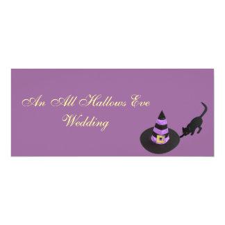 """""""An All Hallows Eve Wedding"""" Card"""