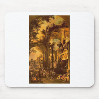 An Allegorical Painting of the Tomb of Lord Somers Mouse Pad