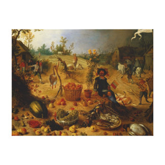 An Allegory of Autumn Stretched Canvas Prints