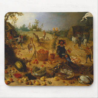 An Allegory of Autumn Mousepad