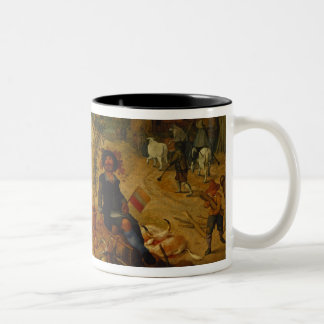 An Allegory of Autumn Two-Tone Coffee Mug