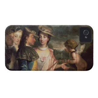 An Allegory of Courtship iPhone 4 Case