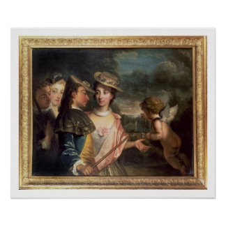 An Allegory of Courtship Poster