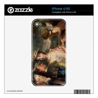 An Allegory of Courtship Skins For The iPhone 4