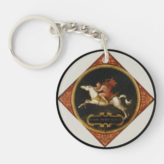 An Allegory of Passion Keychain