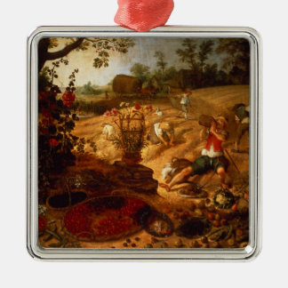 An allegory of Summer Metal Ornament