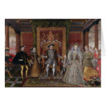 An Allegory of the Tudor Succession: The Family of Greeting Card