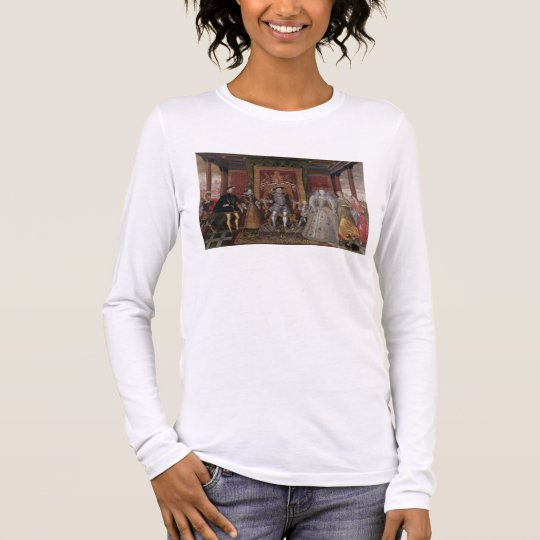 An Allegory of the Tudor Succession: The Family of Long Sleeve T-Shirt